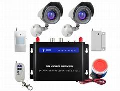 CWT5030 3g wireless surveillance camera, 3G video alarm
