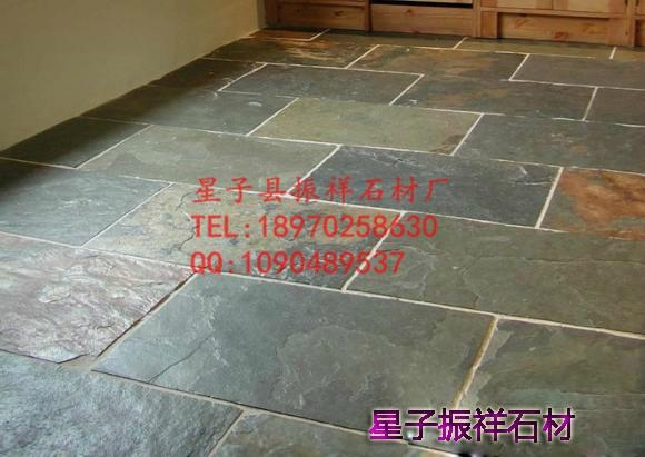 厂家直销天然锈色青石板绣石板文化石锈色地砖 2