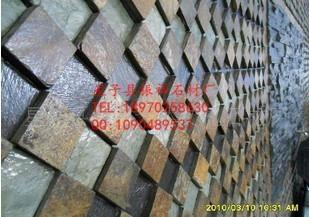 厂家直销天然锈色青石板绣石板文化石锈色地砖 4
