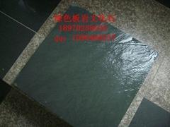 长期供应青石板绿板天然文化石防滑地砖绿色地砖