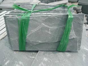 长期供应青石板绿板天然文化石防滑地砖绿色地砖 3