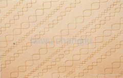 100% polyester nonwoven needle punched PVC floor mat