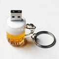 啤酒杯USB手指