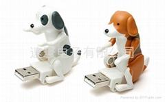 电动狗仔USB手指