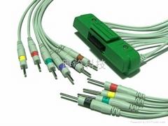 日本光電9320心電圖機線
