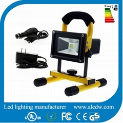 10W Portable Emergency led flood Light rechargeable flood light