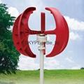 hybrid streetlight 100w to 400w vertical axis wind turbine 1