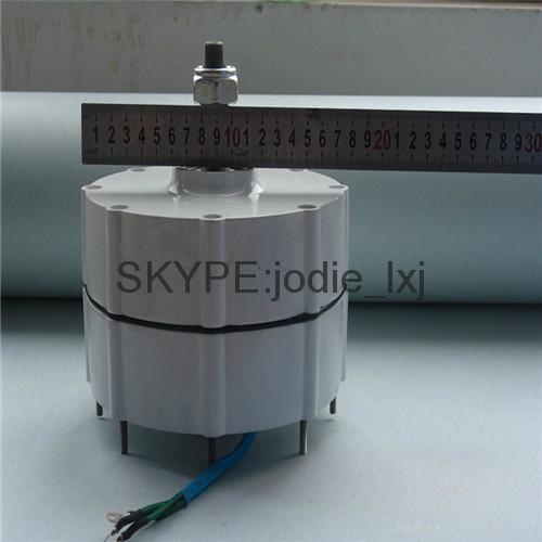 500w ac 12v /24v brushless pernanent magnet generator  2