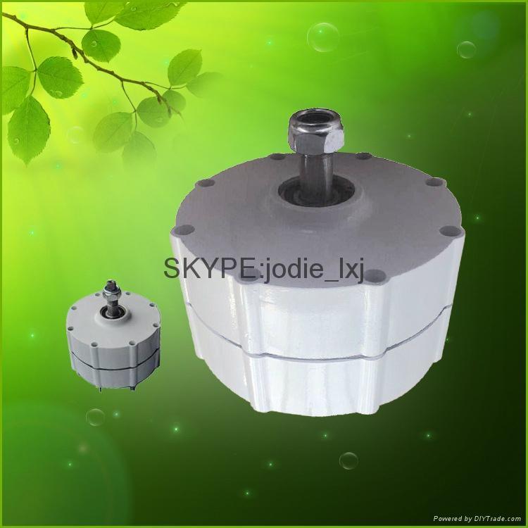 500w ac 12v /24v brushless pernanent magnet generator  4