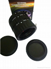 Plastic AF Autofocus Automatic Macro Extension Tube Ring Set for CanonEOS EF EFS
