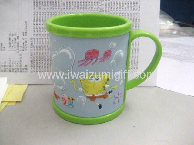 塑料马克杯-卡通马克杯 3