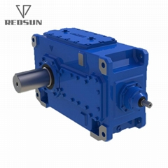 B Industrial Helical Bevel Spiral Gearbox