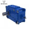 B系列螺旋錐斜齒工業齒輪箱