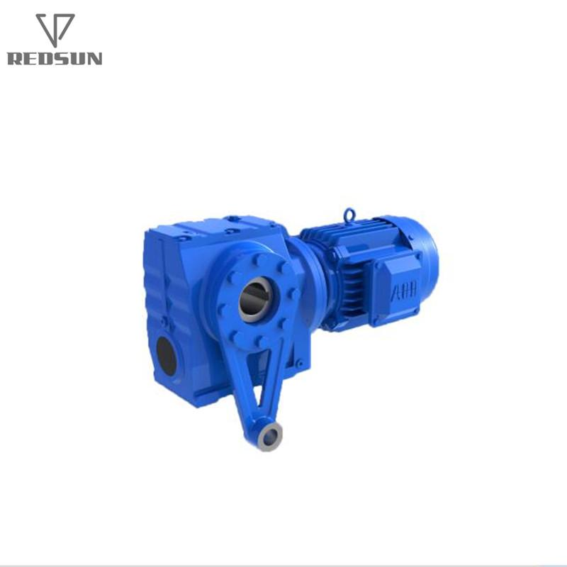 REDSUN SA series helical worm gear reducer with AC motor 7
