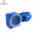 REDSUN SA series helical worm gear reducer with AC motor 8