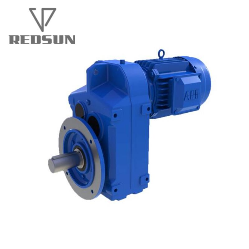 REDSUN F series parallel shaft helical gear reducer 4