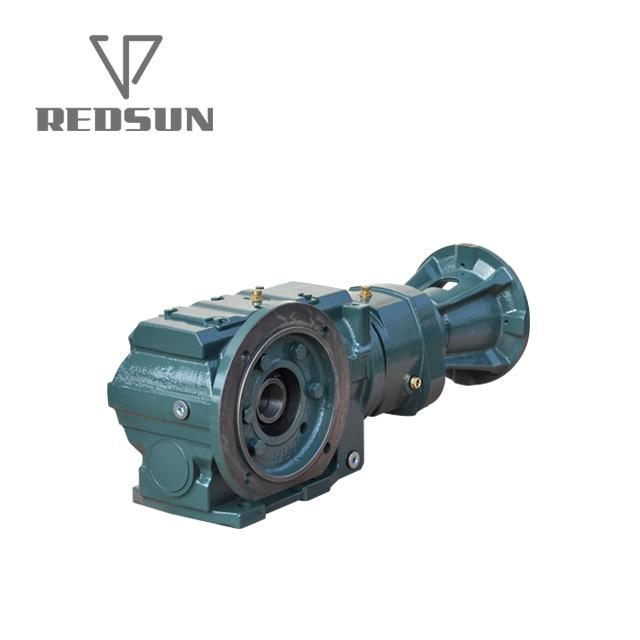 SKA series bevel worm special reducer for plastic machinery 2