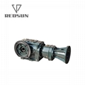 SKA series bevel worm special reducer for plastic machinery 3