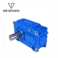 H Series Parallel Shaft Industrial Helical Hollow Output Shaft Gearbox
