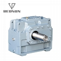H Series Parallel Shaft Industrial Helical Hollow Output Shaft Gearbox 4