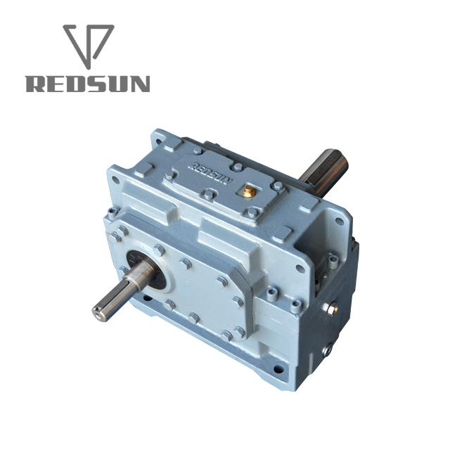 H Series Parallel Shaft Industrial Helical Hollow Output Shaft Gearbox 6
