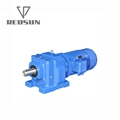 R series helical gear speed reducer 3