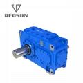 H series flender Rectangular axis industry gearbox  3