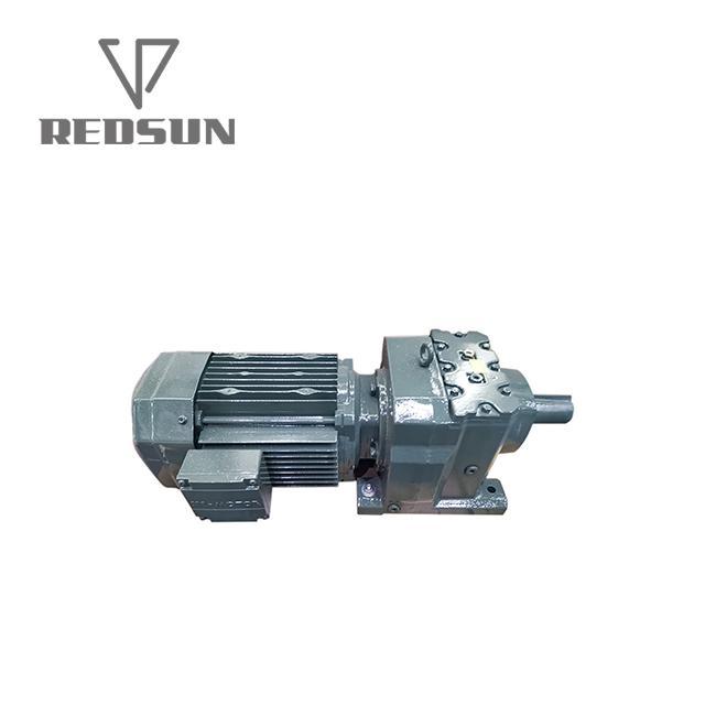 瑞德森R系列同軸斜齒輪減速電機 5