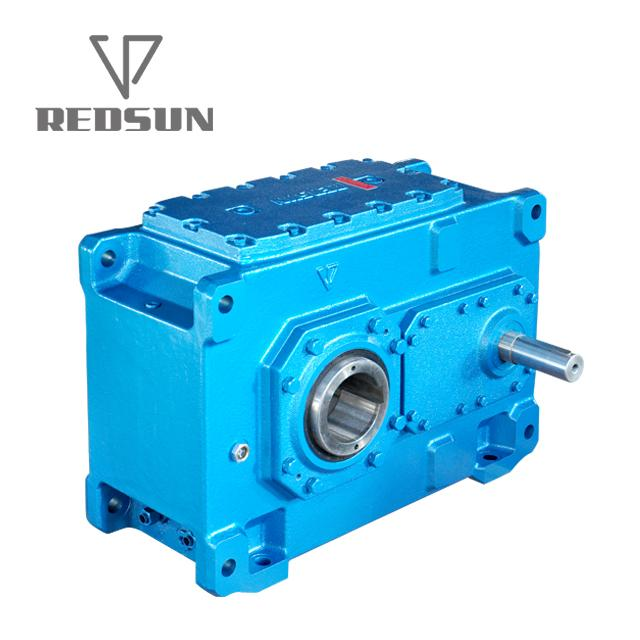 B Series Helical Hollow Shaft Gearbox With Motor 1
