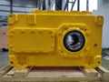 B Series Helical Hollow Shaft Gearbox With Motor 2