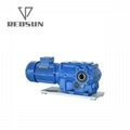 SKA series bevel worm special reducer for plastic machinery 4