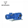 SKA series bevel worm special reducer for plastic machinery 8
