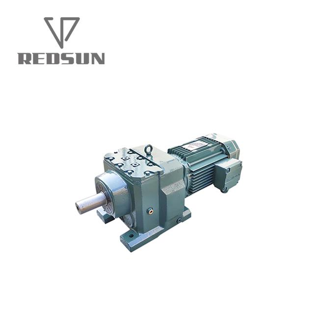 High Quality Helical Gear Reducer With AC Motor 4