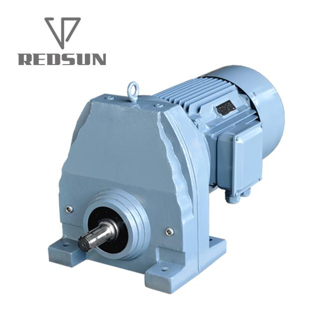 Single Stage Foot Mounted Helical Gear Box 5