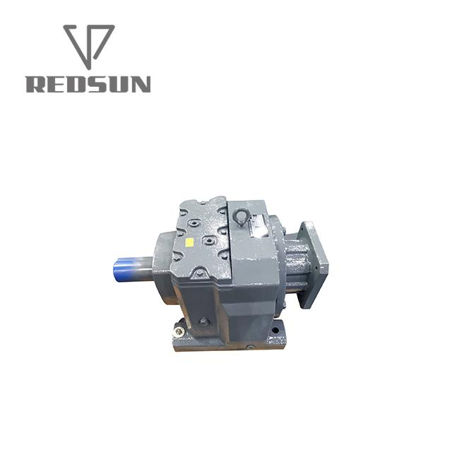 Hot Sale Helical Gearbox Reducer With Input Solid Shaft 3