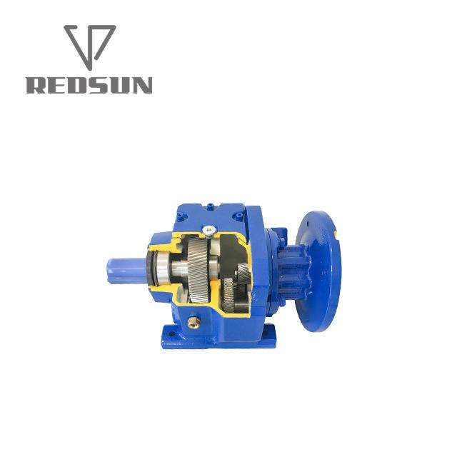 Hot Sale Helical Gearbox Reducer With Input Solid Shaft 4
