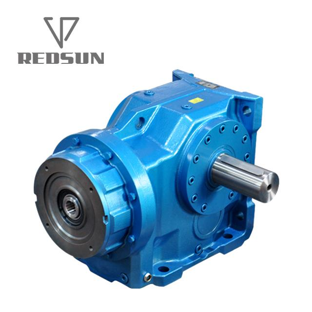 Helical Bevel Geared Motor With Input Solid Shaft 4