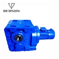 Helical Bevel Gearboxes Apply In Plastic