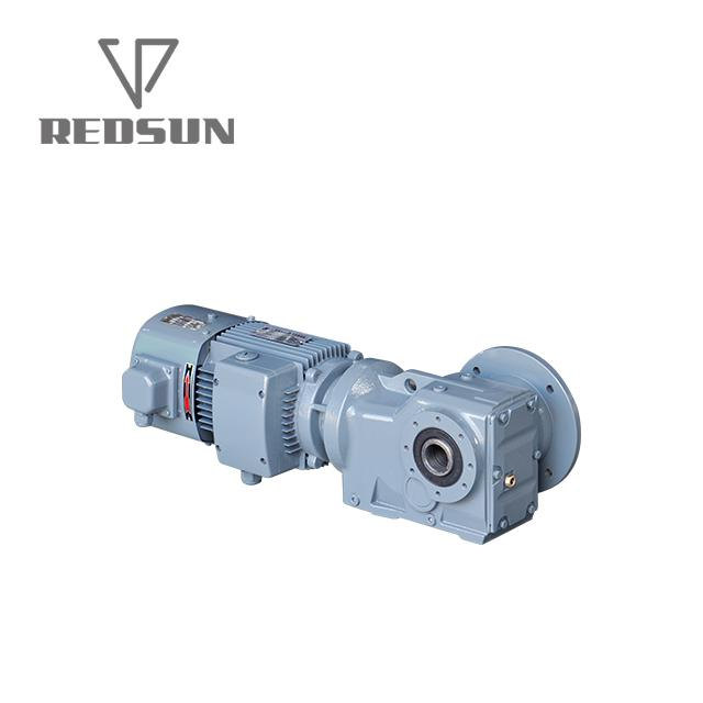 High Quality Transmission Equipment Helical Bevel Gear Motor 6