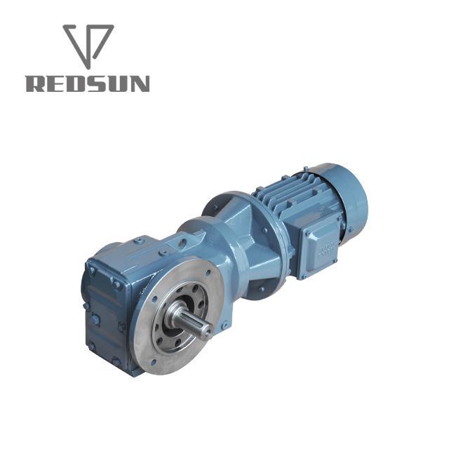 瑞德森K系列斜齿轮伞齿轮减速部件 4