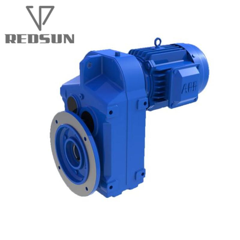 Parallel Helical Gear Speed Reducer With Hollow Shaft  1