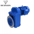 Parallel Helical Gear Speed Reducer With