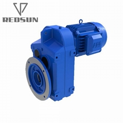 Parallel Helical Gear Speed Reducer With Hollow Shaft