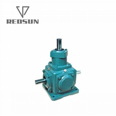 2-Extended Shaft Spiral Bevel Gear Box Reducer