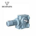 Worm Gear Motor Gearbox With Solid Shaft 3