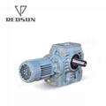 实心轴蜗杆电机齿轮箱 4