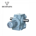 Worm Gear Motor Gearbox With Solid Shaft 5