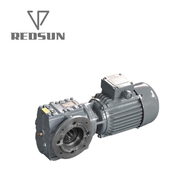 S series helical worm gearbox 7