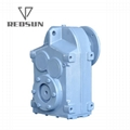 F parallel shaft helical gearbox 7