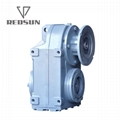 F parallel shaft helical gearbox 8